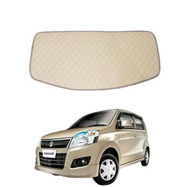 Suzuki Wagon R 7D Trunk Mat Mix Thread Beige - Model 2014-2018-SehgalMotors.Pk