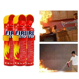 Fire Extinguisher Can Fire Stop Pack Of 5-SehgalMotors.Pk