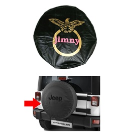 Suzuki JIMNY Spare Wheel Cover Black - Model 1998-2017-SehgalMotors.Pk