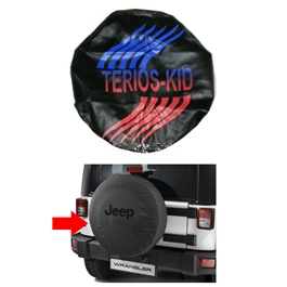 Daihatsu Terios Kid Spare Wheel Cover - Model 1998 - 2010-SehgalMotors.Pk