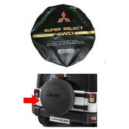 Mitsubishi Pajero Spare Wheel Cover - Model 1991 - 1999-SehgalMotors.Pk