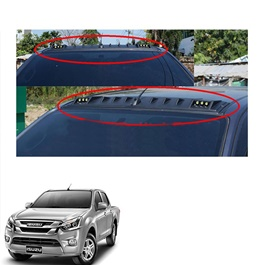 Isuzu D-Max Front Roof LED Spoiler Thailand - Model 2016-2019-SehgalMotors.Pk