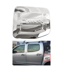 Isuzu D-Max / DMax / D Max Full Chrome Fuel Tank Cover Thailand - Model 2018-2020-SehgalMotors.Pk