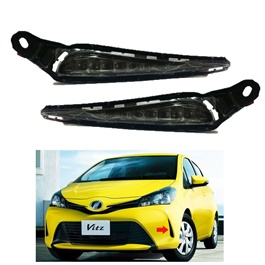 Toyota Vitz DLAA LED Fog Lights TY-110 - Model 2015-2016-SehgalMotors.Pk