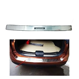Suzuki Wagon R Rear LED Chrome Bumper Protector - Model 2014-2018-SehgalMotors.Pk
