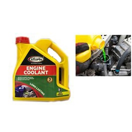 Biturbo International Engine Coolant - 3Liter | Engine Coolant Water | Radiator Cooling Water | Keep Engine Cool | Stop From Heat Up
