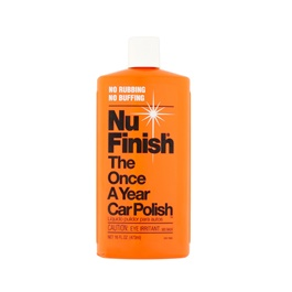 Nu Finish The Once A Year Car Polish-SehgalMotors.Pk