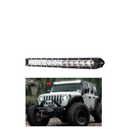 18 SMD Slim Style Roof LED Bar Light-SehgalMotors.Pk