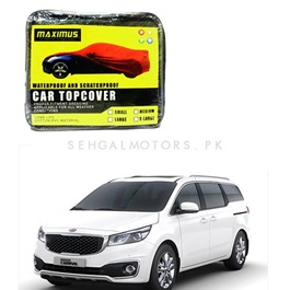 KIA Grand Carnival Maximus Non Woven Scratchproof Waterproof Car Top Cover - Model 2019 - 2020