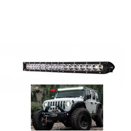 24 SMD Slim Style Roof LED Bar Light  | High Accuracy Jeep Light | Sharp Light | Jeep Decoration Light | Flood Spot Combo Beam Offroad Light Driving Fog Lamp-SehgalMotors.Pk