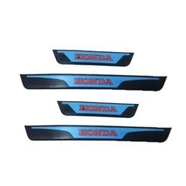 Honda Civic Rubber Door Sill Plates - Model 2016-2020-SehgalMotors.Pk