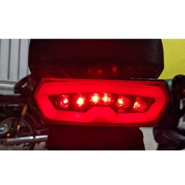 Universal Bike Neon Style Brake Lamp