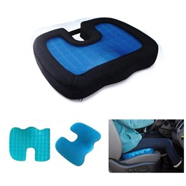 U-Shape Pain Relieve Gel Foam Seat Cushion-SehgalMotors.Pk
