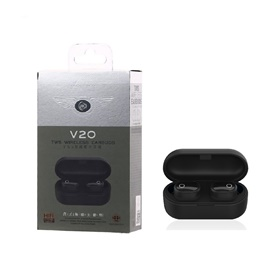 REMAX WK TWS V20 Airdots Bluetooth WIith Charging Dock-SehgalMotors.Pk