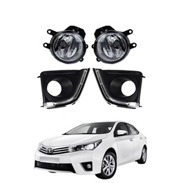 Toyota Corolla DLAA Fog Lamps / Fog Lights TY-482E-2 - Model 2014-2017-SehgalMotors.Pk