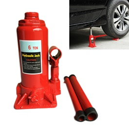 Car Hydraulic Jack With Manual Handle Heavy Duty 6 Ton