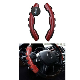Universal Anti Slip Steering Wheel Easy Grips Trims - Mix Color Designs | Car PVC Grips Steering Wheel Cover-SehgalMotors.Pk