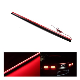Universal Rear Windshield Soft Full LED 3rd Brake Light Strip Assembly-SehgalMotors.Pk