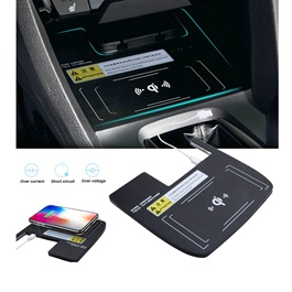 Honda Civic Console Storage Box Qi Wireless Charger - Model 2016-2019-SehgalMotors.Pk
