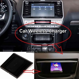 Toyota Prado Console Storage Box Qi Wireless Charger - Model 2018-2020-SehgalMotors.Pk