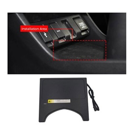 Honda Vezel Console Storage Box Qi Wireless Charger - Model 2013-2018-SehgalMotors.Pk