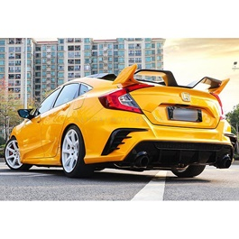 Honda Civic New FC 450 Style spoiler - Model 2016-2021-SehgalMotors.Pk