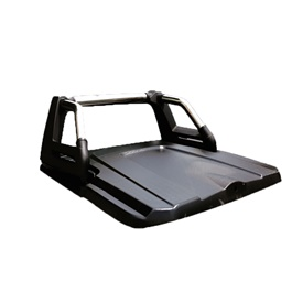 Toyota Hilux Revo Tonneau Super Lid with Roll Bar - Model 2016-2019
