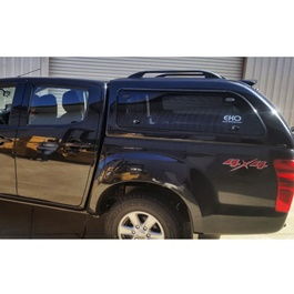 Isuzu DMax Dual Cab Canopy - Model 2018-2020 | Full Covered With Windows-SehgalMotors.Pk