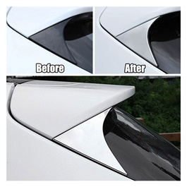 KIA Sportage Trunk Spoiler Edge Chrome Trim - Model 2019 - 2020-SehgalMotors.Pk