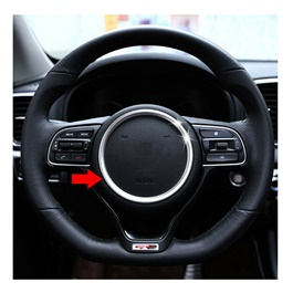 KIA Sportage Steering Wheel Ring Silver Trim - Model 2019 -2021