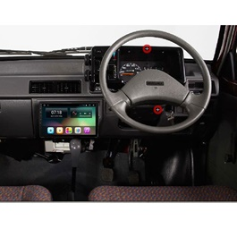 Suzuki Mehran Euro II New Style Android LCD IPS Multimedia Navigation System - Model 2012-2019