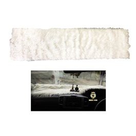 Universal Fur Style Dashboard Carpet | Anti Slide Pad Dashmat Sun Shade Dash Board Cover Carpet Car Styling Mat | Protect Dashboard From Heat | Fancy Dashboard Carpet-SehgalMotors.Pk