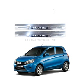 Suzuki Cultus LED Door Sill Plates - Model 2017-2020-SehgalMotors.Pk
