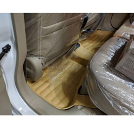 Honda BRV 5D Custom Floor Mat Beige 3 Pcs - Model 2017-2018-SehgalMotors.Pk