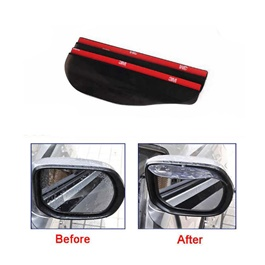 Car Side Mirror Visors Sunshade / Sun Shades Rain Protector - Pair