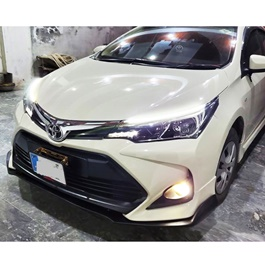 Toyota Corolla Altis X Front Bumper With Cannards - Model 2017-2019-SehgalMotors.Pk