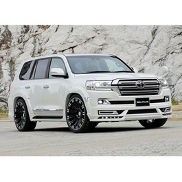 Toyota Land Cruiser Wald Style Body Kit / Bodykit With PP Fender Flare GBT - Model 2015-2018