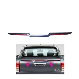 Toyota Hilux Revo Tail Gate Plating Garnish  - Model 2016-2020-SehgalMotors.Pk