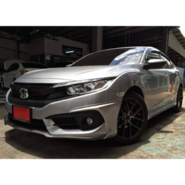 Honda Civic American Style Ativus Body Kit / Bodykit ABS Plastic 4 Pieces - Model 2016-2019 -SehgalMotors.Pk