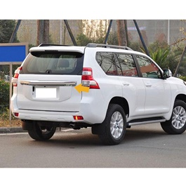 Toyota Prado Geniune Used Rear Number Plate Garnish - Model 2009 - 2014-SehgalMotors.Pk
