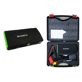 Maximus Car Battery Jump Starter Power Bank | Starts a Car 20 Times in One Charge | Mobile Charger-SehgalMotors.Pk