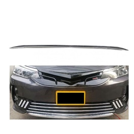 Toyota Corolla Front Bumper Lower Lip Chrome Moulding Each -  Model 2017-2020 MA001134-SehgalMotors.Pk