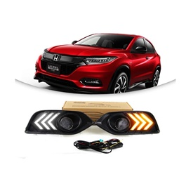 Honda Vezel Fog Lamps / Fog Lights DRL Covers RS Shape - Model 2018-2019-SehgalMotors.Pk