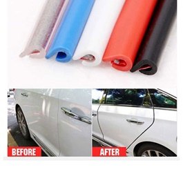 Universal Door Guards Protector Small 4 Piece - Blue -SehgalMotors.Pk