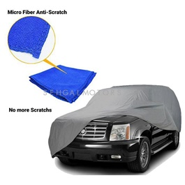 Premium Micro Fiber Anti-Scratch Top Cover XXL - Multi Cross Over Size-SehgalMotors.Pk