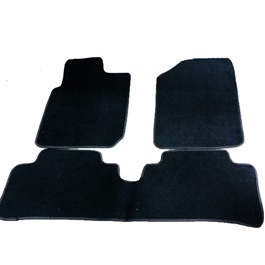 KIA Picanto Carpet Floor Mat Black - Model 2019-2020-SehgalMotors.Pk