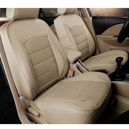 Toyota Land Cruiser Thailand Rexine Seat Covers Beige - Model 2015-2018-SehgalMotors.Pk