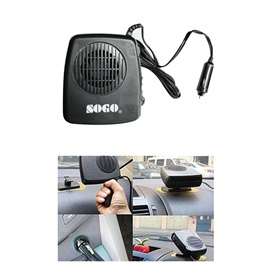 Heavy Duty Portable Car Heating Defroster Fan | Auto Heater Fan 12 Volt DC-SehgalMotors.Pk