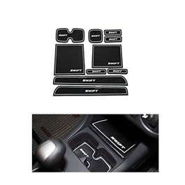 Suzuki Swift PVC Interior Mats White - Model 2010-2018-SehgalMotors.Pk