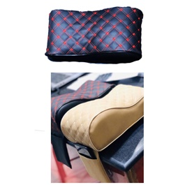 Universal Armrest Black With Red Stitch with Phone Holder-SehgalMotors.Pk